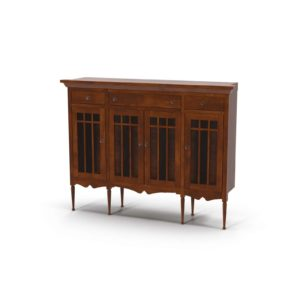 3D Sideboard R&H Retro Natural Wood