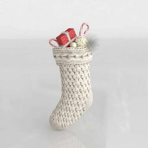 3D Stocking Anthropologie Neva