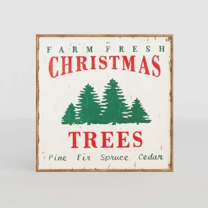 3D Poster Farm Fresh Christmas Trees