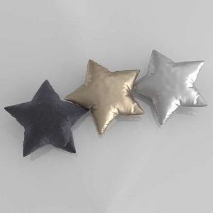 3D Pillow Set GE Stars