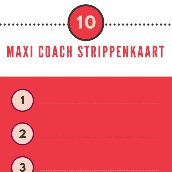 Praktijk Glansreijk - Maxi Coach Strippenkaart