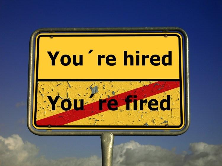 Het verliezen van je baan zorgt ervoor dat je door een rouwproces gaat