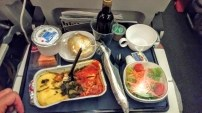 It's been forever since I've had a meal on a plane. It was fine... for airplane food.