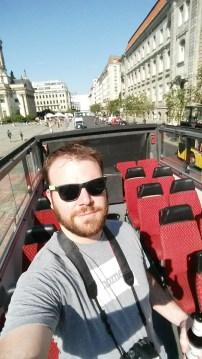 Hop-on-hop-off bus tour in Berlin