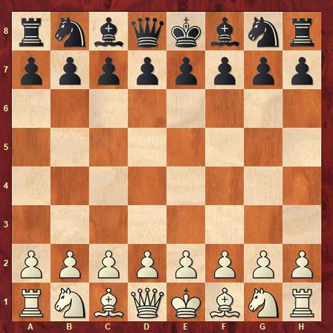Die Grundstellung einer regulären Schachpartie (Glarean Magazin)