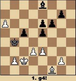 Studie von Queckenstadt (aus Walter Eigenmann: Hundert Schach-Endspiele für Computer)