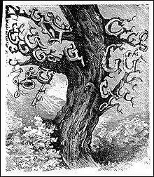 Auch hier: Oft ist das grafisch-malerische Primat vor inhaltlicher Komplexität anzutreffen (Mitte 19. Jh.)