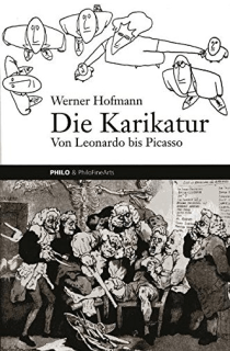 Die Karikatur - Werner Hofmann - Cover - Glarean Magazin