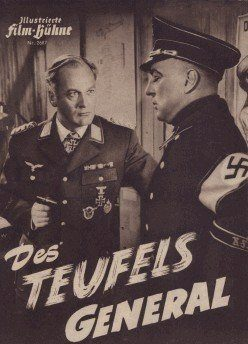 Des Teufels General - Szenenfoto aus dem Film von H. Käutner (1954, Hauptrolle Curd Jürgens)