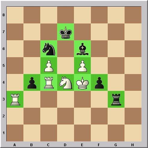 Studie Schach-Alphabet Buchstabe A Problemschach Walter Eigenmann im Glarean Magazin