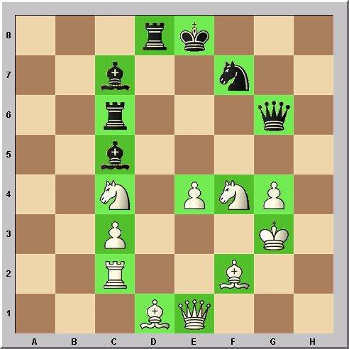 Studie Schach-Alphabet Buchstabe G Problemschach Walter Eigenmann im Glarean Magazin