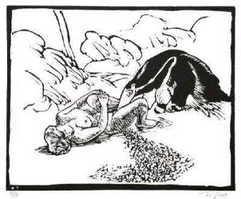 """Roland Topor's """"Le Fourmilier"""": Ein Ameisenbär auf Abwegen"""