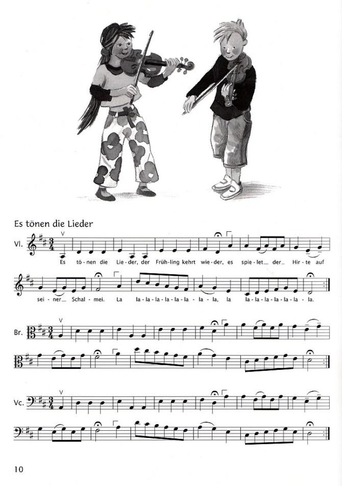 Bärenreiters Sassmannshaus - Das Standardwerk für junge Streicher - Spielbuch (Leseprobe)
