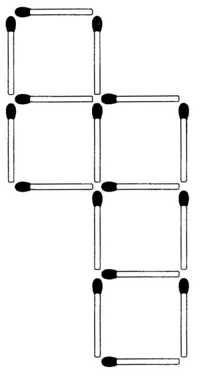 Das neue Streichholz-Rätsel (März 2009)