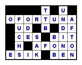 Das Musik-Kreuzworträtsel im Juli 2009