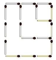 Das neue Streichholz-Rätsel (Dezember 2009) - Lösung