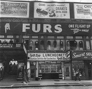 New York in den 40er Jahren: Der Union Square