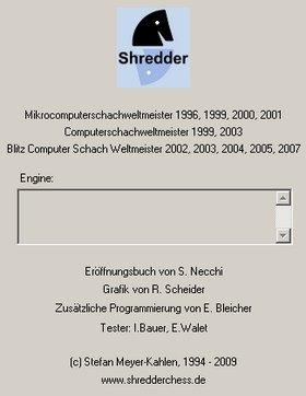 Das Impressum des neuen Shredder