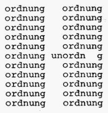 Textvisualisierung in der Moderne: Konkrete Poesie (Timm Ulrichs: