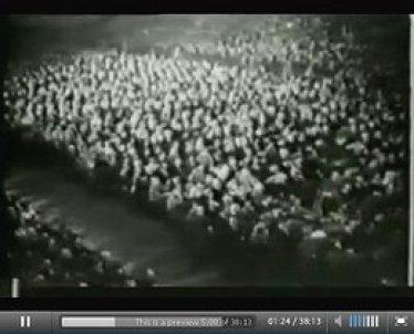 Fast das gesamte deutsche Volk jubelte seinem Führer begeistert zu (Video-Dokument: