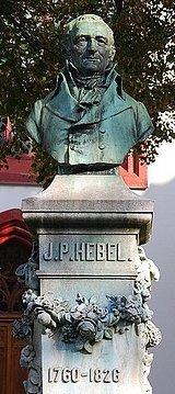 Hebel-Denkmal in Basel