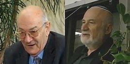Zwei Schach-Opfer des russischen KGB: Viktor Kortschnoi und Boris Gulko