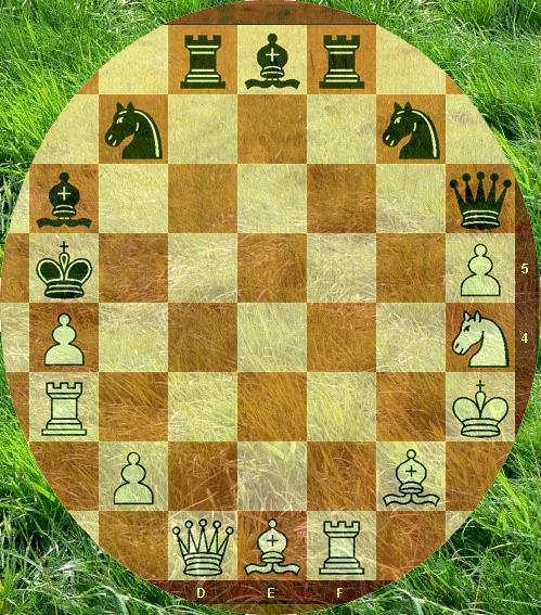 """Das """"Schach-Osterei"""" 2010: Matt in 7 Zügen (Urdruck)"""