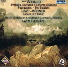 Leo Weiner - Laszlo Kovacz - North Ungarian Symphony Orchestra