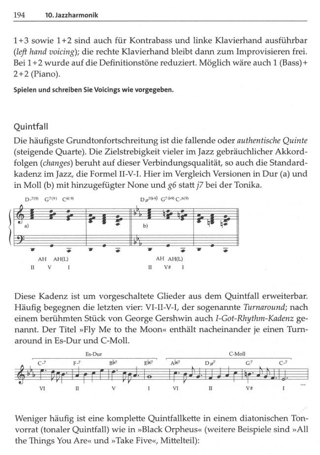 Leseprobe 3: Jazzharmonik