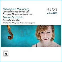 Mieczyslaw Weinberg - Fyodor Druzhinin - Sonata for Viola Solo - Julia-Rebekka Adler - Neos