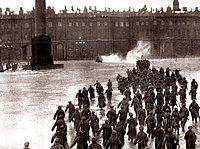 Liebesgeschichte inmitten Kriegswirren: Eisensteins Film-Sequenz
