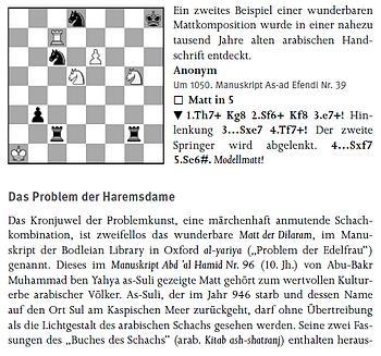"""Leseprobe 1 aus """"Alles über Schach"""" (Humboldt-Verlag) - """"Das Problem der Haremsdame"""""""