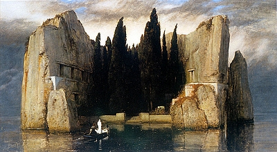 "Arnold Böcklin: ""Die Toteninsel"""