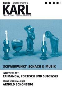 «Schach & Musik» war ebenso schon KARL-Schwerpunkt wie «Schach & Politik» oder «Schach & Frauen»