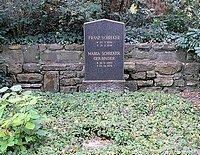 Schreker-Grab im Berliner Waldfriedhof Dahlem