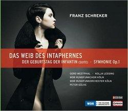 Franz Schreker - Das Weib des Intaphernes - CD-Cover (Rezension Glarean Magazin)