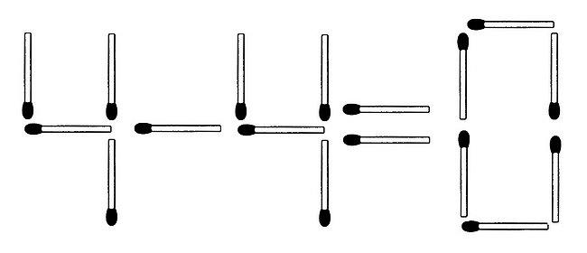 Das neue Streichholzrätsel (Juli 2016) im Glarean Magazin (Lösung)