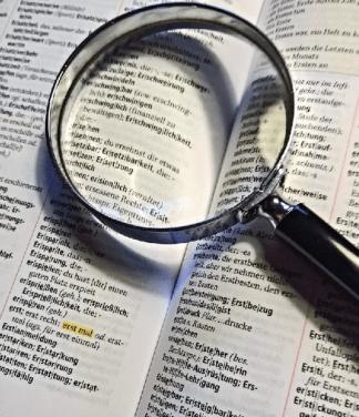 Duden - Sprache - Rechtschreibung - Lesen - Lupe - Glarean Magazin