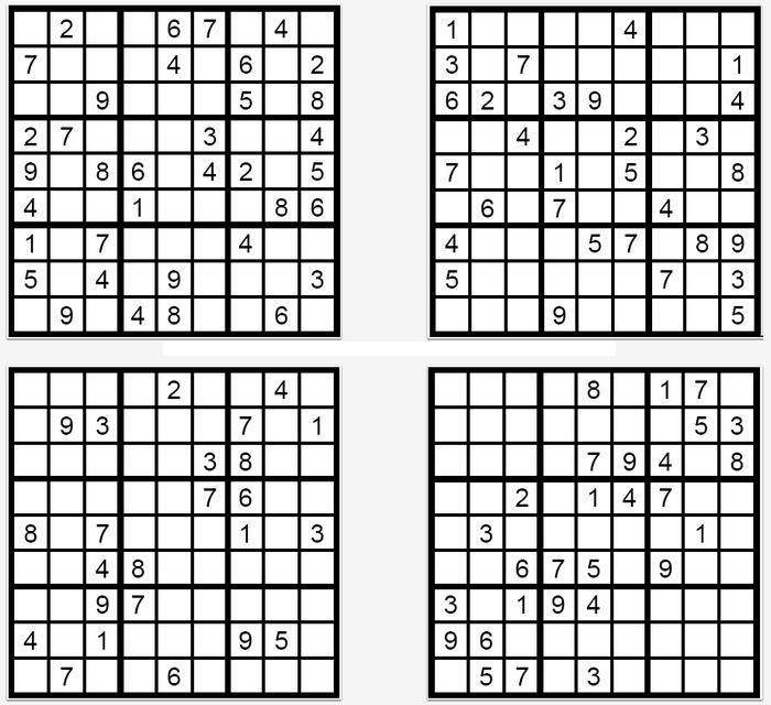 Das Sudoku Quartett Im Oktober 2017 Glarean Magazin