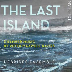 The last Island - Cover - Delphian Records