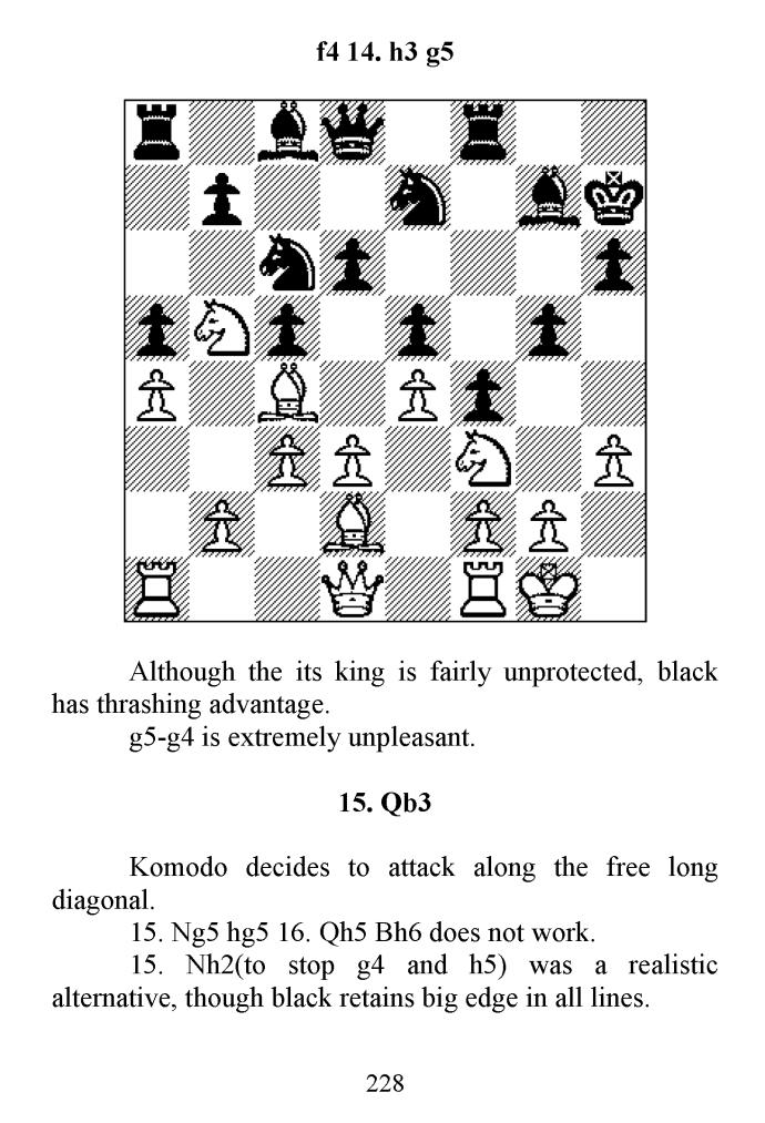 "Leseprobe 2 aus L. Tsvetkov: ""Human versus Machine - How to beat Stockfish and Komodo"""
