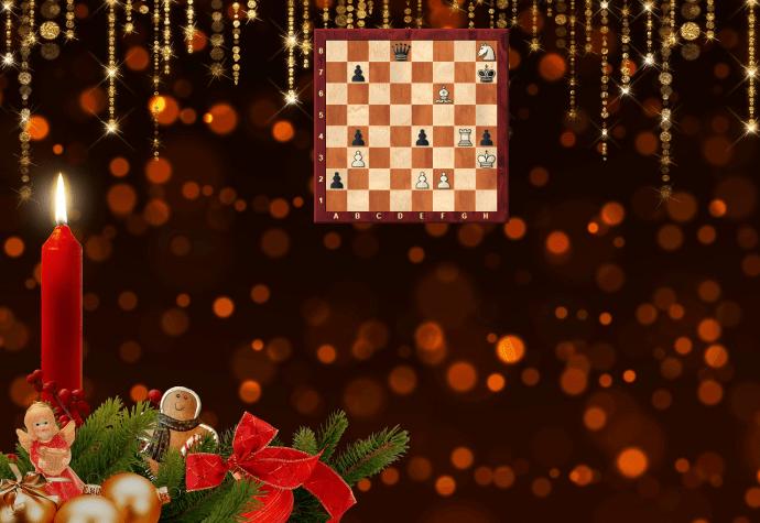 Schach-Kerze zum 1. Advent 2018 - Glarean Magazin