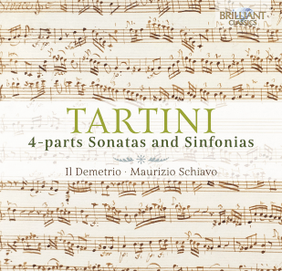 Tartini - 4-parts Sonatas and Sinfonias - Musik-Rezensionen Glarean Magazin