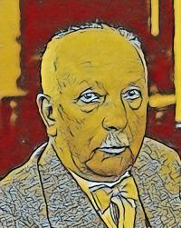 Karikatur Richard Strauss - Karikatur - Musiker-Anekdoten Glarean Magazin