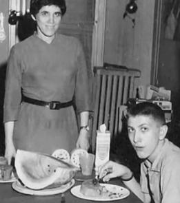 Bobby Fischer und Mutter Regina - Melonen-Essen in Manhattan - Schach im Glarean Magazin