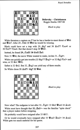 Andrew Soltis - How to Swindle in Chess - Batsford Chess - Leseprobe 1 - Glarean Magazin