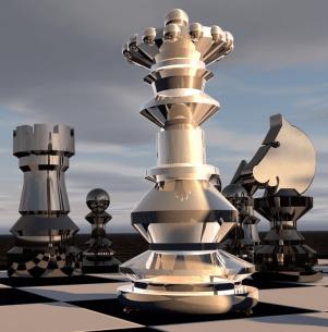 Modern Chess - Schach-Figuren - Schach-Kunst - Glarean Magazin