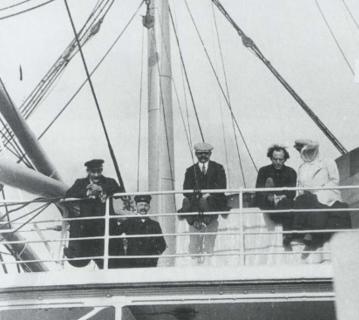 Gustav und Alma Mahler - Amerika-Reise 1911 - Schiff S.S. Amerika - Glarean Magazin