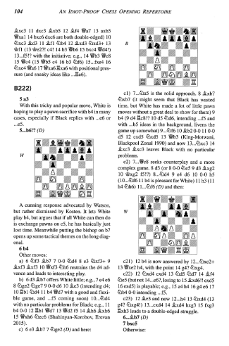 Graham Burgess - An Idiot-Proof Chess Opening Repertoire - Leseprobe - Schach-Rezensionen - Glarean Magazin