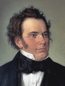 Franz Schubert - Gemälde von Wilhelm August Rieder 1875 - Glarean Magazin